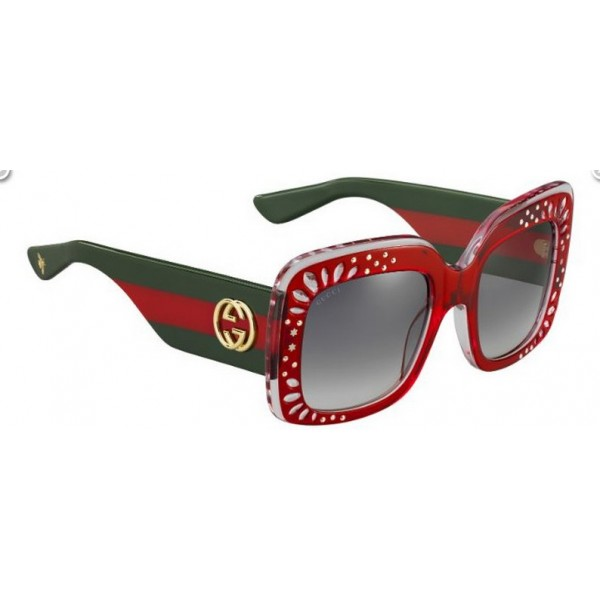 Gucci 3862-S Yl9 Vk Rosso Verde
