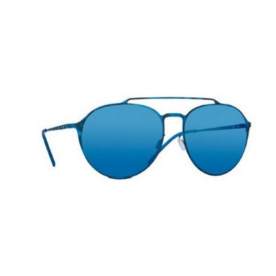 Italia Independent I-METAL 0221 - 0221.023.000 Blu Multicolor | Occhiale Da Sole Uomo