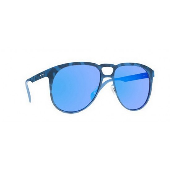 Italia Independent I-METAL 0501 - 0501.023.000 Blu Multicolor | Occhiale Da Sole Uomo