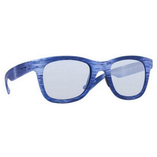 Italia Independent I-PLASTIK 0090 - 0090.BHS.020 Blu Multicolor | Occhiale Da Sole Unisex