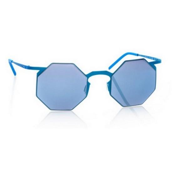 Italia Independent I-METAL 0205 - 0205.027.000 Blu Multicolor | Occhiale Da Sole Unisex