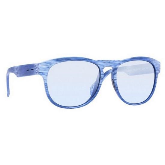 Italia Independent I-PLASTIK 0902 - 0902.BHS.020 Blu Multicolor | Occhiale Da Sole Uomo