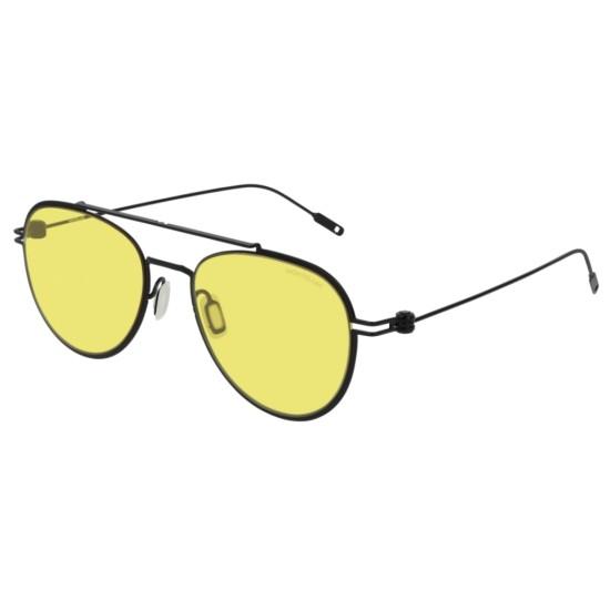 Montblanc MB0001S - 004 Nero   Occhiale Da Sole Unisex