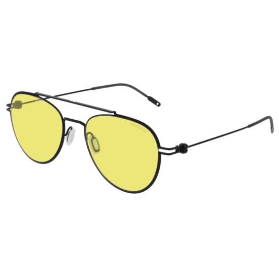 Montblanc MB0001S - 009 Nero | Occhiale Da Sole Unisex