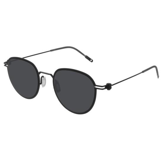 Montblanc MB0002S - 001 Nero | Occhiale Da Sole Uomo