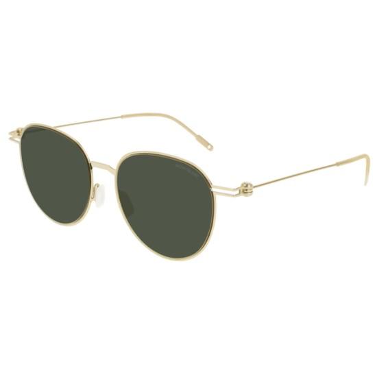 Montblanc MB0002S - 002 Oro | Occhiale Da Sole Uomo