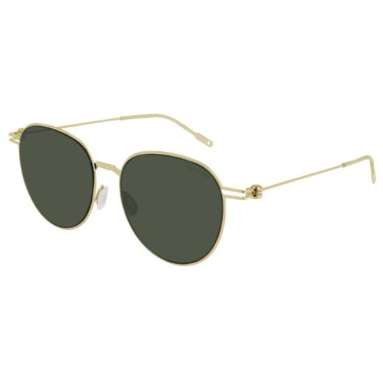 Montblanc MB0002SA - 002 Oro | Occhiale Da Sole Uomo