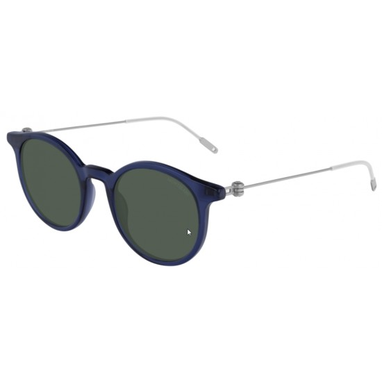 Montblanc MB0004S - 004 Blu | Occhiale Da Sole Uomo