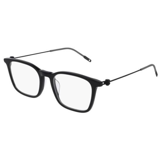 Montblanc MB0005O - 001 Nero | Occhiale Da Vista Uomo