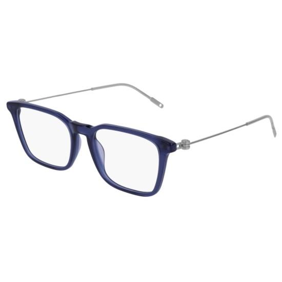 Montblanc MB0005O - 004 Blu | Occhiale Da Vista Uomo