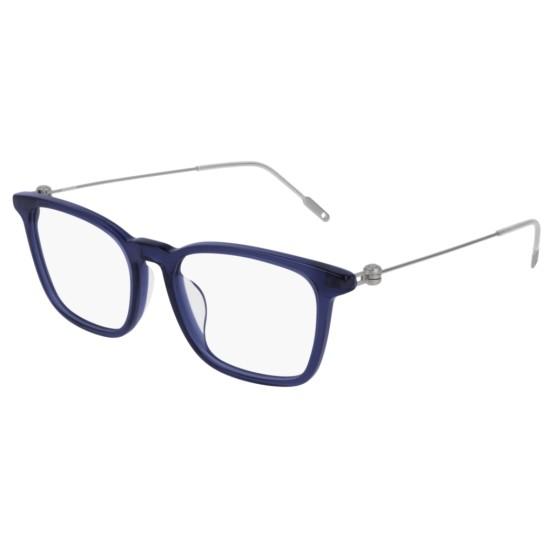 Montblanc MB0005OA - 004 Blu | Occhiale Da Vista Uomo