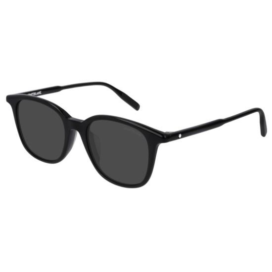 Montblanc MB0006SA - 001 Nero | Occhiale Da Sole Uomo