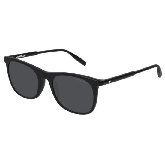 Montblanc MB0007S - 001 Nero | Occhiale Da Sole Uomo