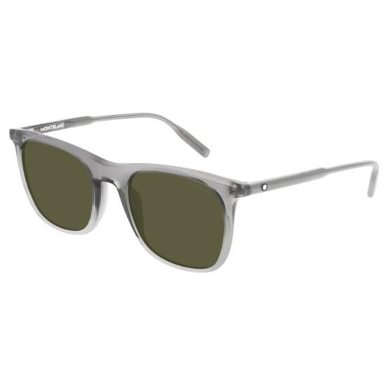 Montblanc MB0008S - 003 Grigio | Occhiale Da Sole Uomo