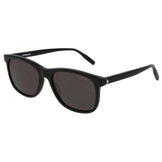 Montblanc MB0013S - 001 Nero | Occhiale Da Sole Uomo