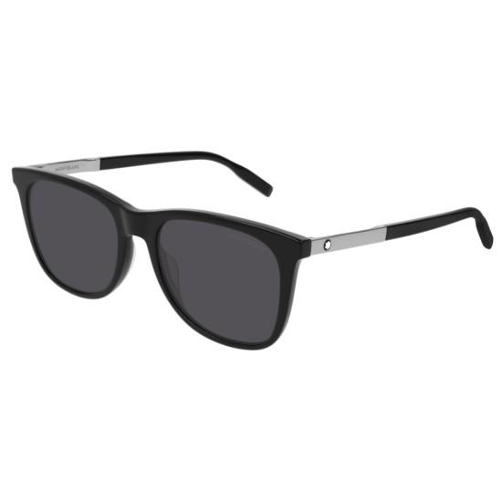 Montblanc MB0017S - 006 Nero | Occhiale Da Sole Uomo