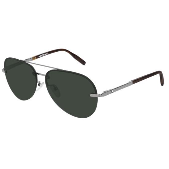 Montblanc MB0018S - 003 Rutenio | Occhiale Da Sole Uomo