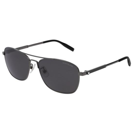 Montblanc MB0026S - 005 Rutenio   Occhiale Da Sole Uomo