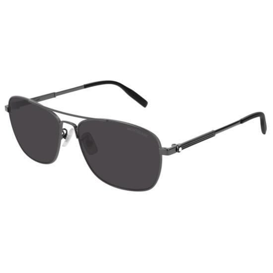 Montblanc MB0026S - 006 Rutenio | Occhiale Da Sole Uomo