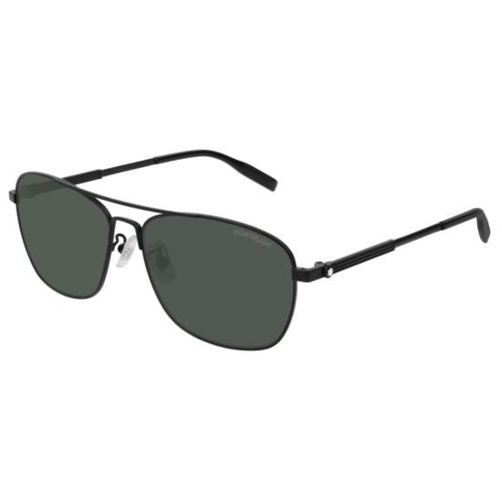 Montblanc MB0026S - 007 Nero | Occhiale Da Sole Uomo