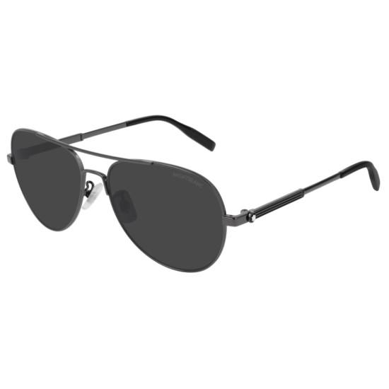 Montblanc MB0027S - 005 Rutenio   Occhiale Da Sole Uomo