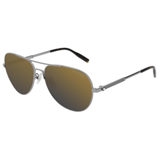 Montblanc MB0027S - 009 Rutenio | Occhiale Da Sole Uomo