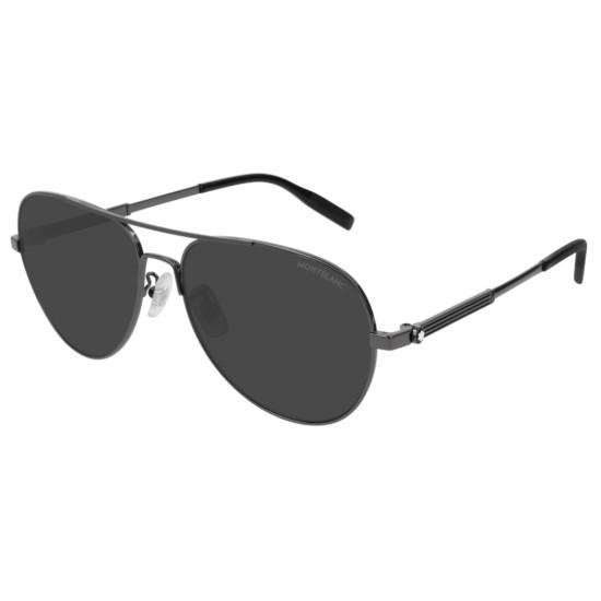 Montblanc MB0027S - 010 Rutenio   Occhiale Da Sole Uomo