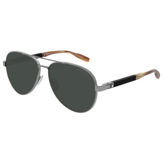 Montblanc MB0032S - 004 Rutenio | Occhiale Da Sole Uomo