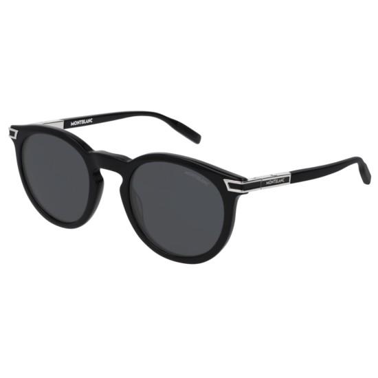 Montblanc MB0041S - 001 Nero   Occhiale Da Sole Uomo