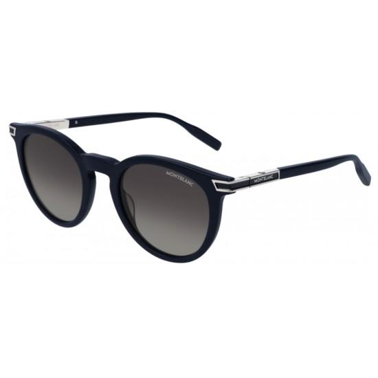 Montblanc MB0041S - 003 Blu | Occhiale Da Sole Uomo