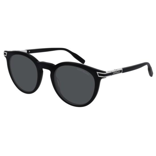 Montblanc MB0041S - 005 Nero | Occhiale Da Sole Uomo