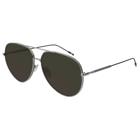 Montblanc MB0045S - 003 Rutenio | Occhiale Da Sole Uomo