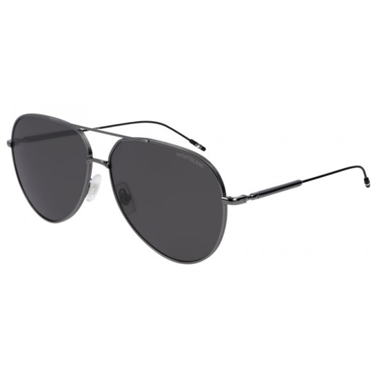 Montblanc MB0045S - 005 Rutenio   Occhiale Da Sole Uomo