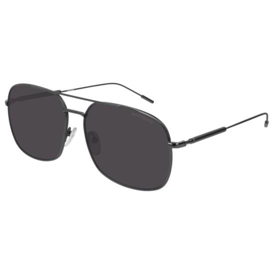 Montblanc MB0046S - 001 Rutenio | Occhiale Da Sole Uomo