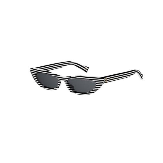 Marc Jacobs MJ 403/S - 7LL IR Strisce Bianche | Occhiale Da Sole Donna