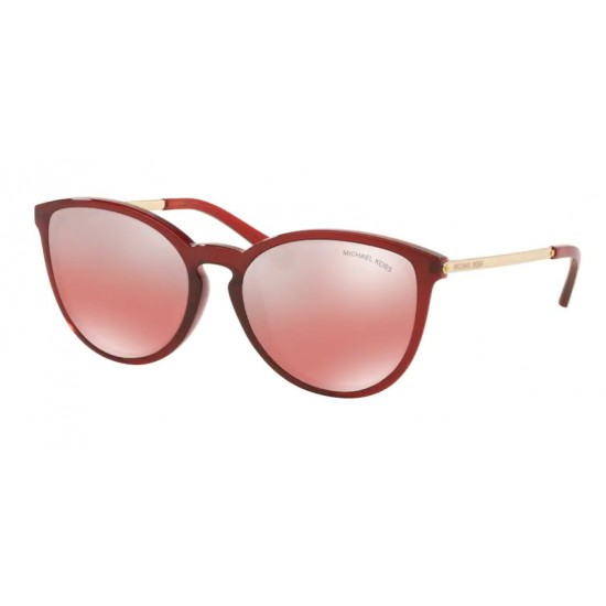 Michael Kors MK 2080U Chamonix 34456A Rosso Trasparente   Occhiale Da Sole Donna