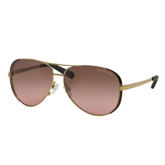 Michael Kors MK 5004 Chelsea 101414 Oro / Dk Marrone Cioccolato | Occhiale Da Sole Donna