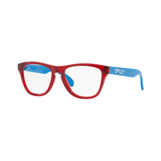 Oakley OY 8009 Rx Frogskins Xs 800902 Translucent Red | Occhiale Da Vista Bambino