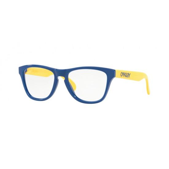 Oakley OY 8009 Rx Frogskins Xs 800904 Polished Navy Blue | Occhiale Da Vista Bambino