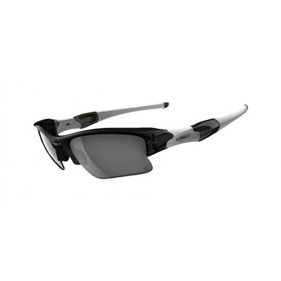Oakley Flak Jacket Xlj OO 9009 03 897 Photochromic Gray Smoke Clear