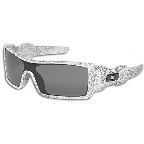Oakley OO 9070 03-492 White With Text/Grey