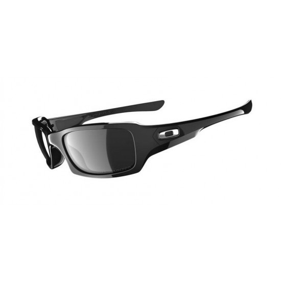 Oakley Five Squared OO 9079 12 967 Polarizzato Polishid Black