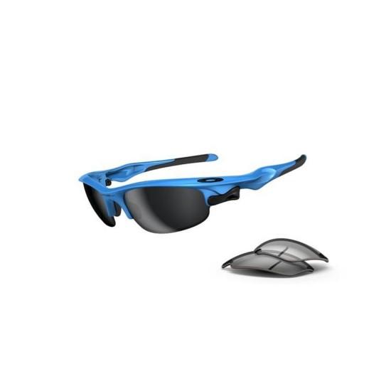 Oakley Fast Jacket OO 9097 04 Sky Blue