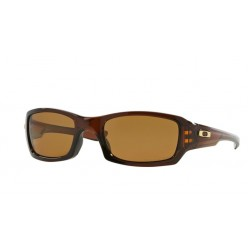 Oakley Fives Squared OO 9238 08 Polarizzato Polished Rootbeer