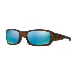 Oakley Fives Squared OO 9238 17 Polarizzato Tortoise Opaque