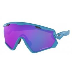 Oakley Wind Jacket 2.0 OO 9418 13 Matte Sky Blu