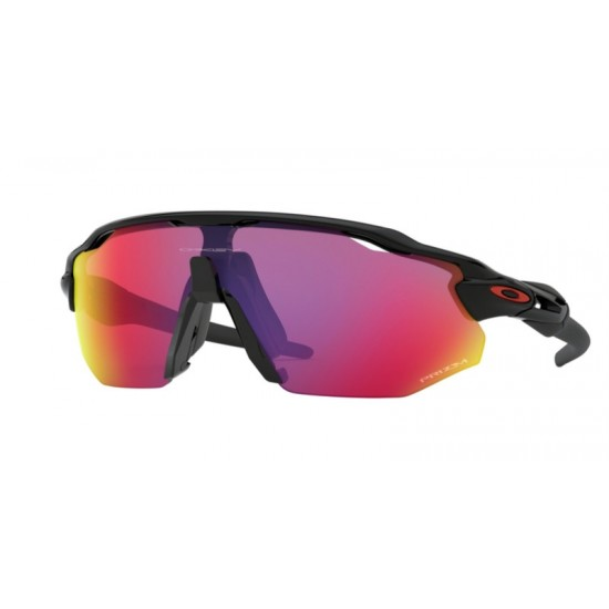 Oakley OO 9442 Radar Ev Advancer 944201 Polished Black | Occhiale Da Sole Uomo