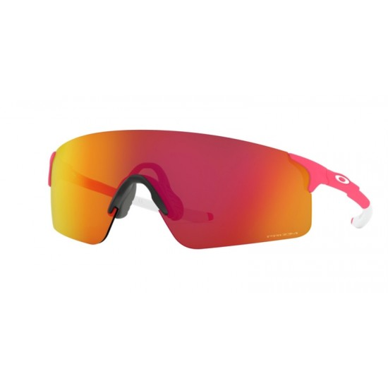 Oakley OO 9454 Evzero Blades 945405 Matte Neon Pink   Occhiale Da Sole Uomo
