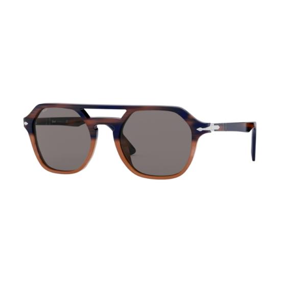 Persol PO 3206S - 1066R5 A Strisce Blu / Orano Grad Orano Op   Occhiale Da Sole Uomo