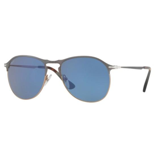 Persol PO 7649S - 107156 Blu / Marrone Chiaro | Occhiale Da Sole Uomo